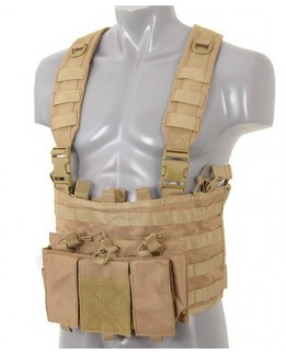 Multi-purpose Chest Rig - Coyote