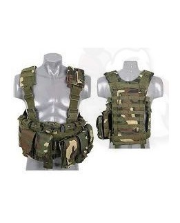 Tactical Harness Woodland