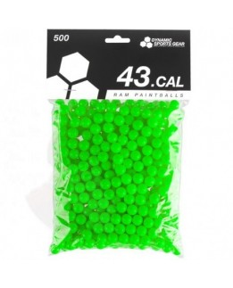 .43 cal paintball DSG green